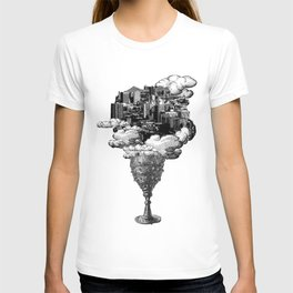 city of cups T-shirt