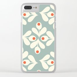 Petite 70s Collection Clear iPhone Case