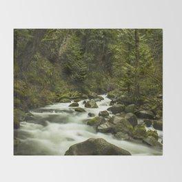 Rios de Oregon 1 Throw Blanket