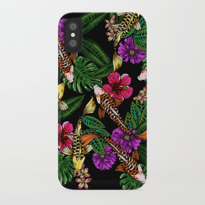 Tropical Koi iPhone Case