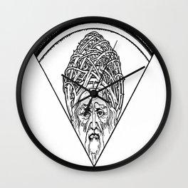 Vignette - Ephraim Moshe Lilien Wall Clock