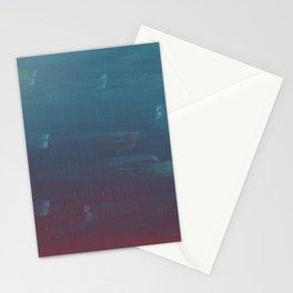 Sunset Brush Strokes Stationery Cards