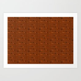 Delicious Chocolate Background Art Print