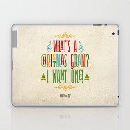 Buddy the Elf! What's a Christmas Gram? Laptop & iPad Skin