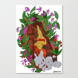 Deadly Nightshade Canvas Print