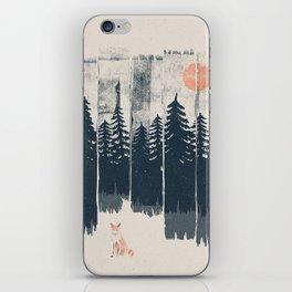 A Fox in the Wild... iPhone Skin