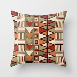 Savanna drums Throw Pillow