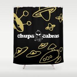 CHUPACABRAS - Gold & Black Edition Shower Curtain