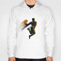 basketball Hoodies featuring Basketball  by Enzo Lo Re
