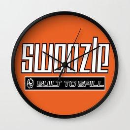 Swoozle - Never Say Die Wall Clock