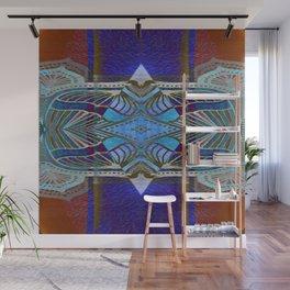 Bougie Boho Vintage Geometric Gemstone Wall Mural