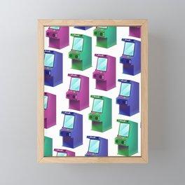 Arcade Machines Framed Mini Art Print