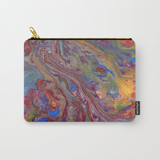 Psychedelic Lava Flow Carry-All Pouch
