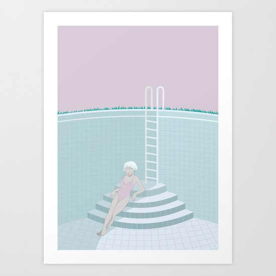Emptied, Drained  Art Print