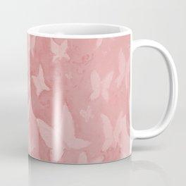 Blushing Butterflies Coffee Mug