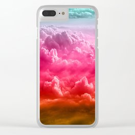 Stupendous Sky Clear iPhone Case