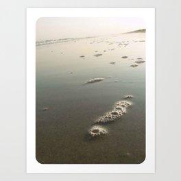 Ocean Bubbles Art Print