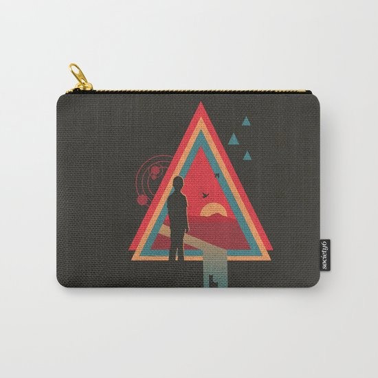 Stare into the Sun Carry-All Pouch