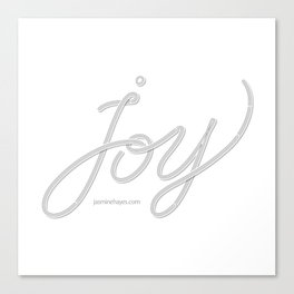 Joy – Ghost Canvas Print