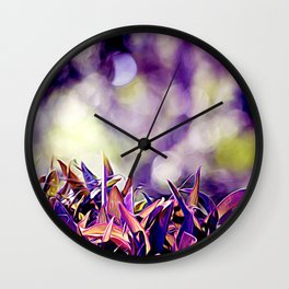 Succulence Wall Clock