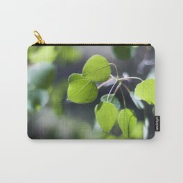 Young Aspen Leaves III Carry-All Pouch