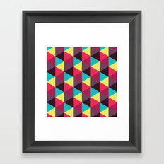 Isometrix 018 Framed Art Print