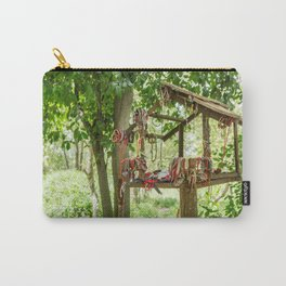 """""""In Memory"""", Killing Fields, Cambodia Carry-All Pouch"""