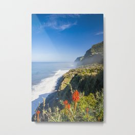 Madeira -view from cliff Metal Print
