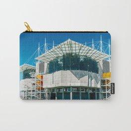 The Lisbon Oceanarium, Aquarium In Portugal, Parque das Nacoes, Wall Art Print, Modern Architecture Carry-All Pouch