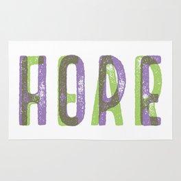 HOPEoverFEAR Rug