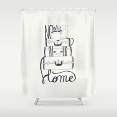 Nowhere Home Shower Curtain
