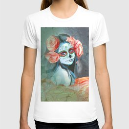 Day of the Dead Peachy Keen T-shirt