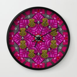 candy to the sweetest festive jewel Wall Clock