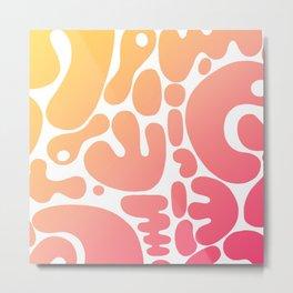 blobs 005 Metal Print