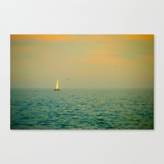 Sailing on The Great Lakes Canvas Print