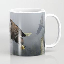 Vision Quest - Bald Eagle & Mists Coffee Mug