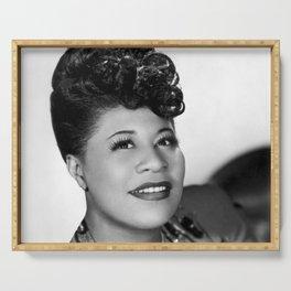 Ella Fitzgerald - Black Culture - Black History Serving Tray
