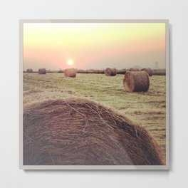 Made in Normandie Metal Print