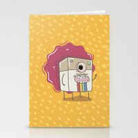 coffe Stationery Cards featuring Coffe mugs by Kulistov