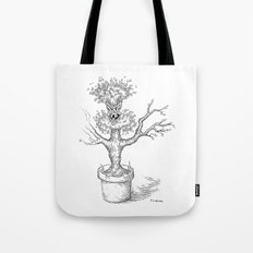 Toothy Tree Tote Bag