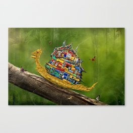 Forest Hike Canvas Print