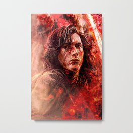 Crash and burn Metal Print