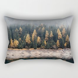 Into the Pines Rectangular Pillow