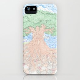 Roots and Leaves iPhone Case