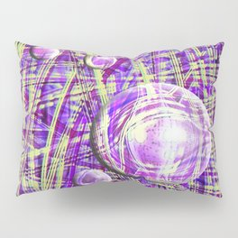 MISCANTHUS MORNING LIGHT ABSTRACT Pillow Sham