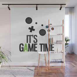 It's Game Time Wall Mural