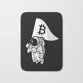 Bitcoin Astronaut Bath Mat
