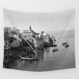 View of Tiberias Wall Tapestry