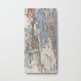 Flaking Weathered Wall rustic decor Metal Print