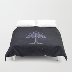 The White Tree Duvet Cover